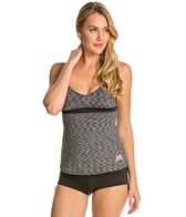 TYR USA Swimming V-Neck Open Back Tankini Swimsuit