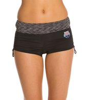 TYR USA Swimming Active Mini Boyshort