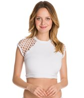 Seafolly Mesh About Crop Bikini Top