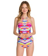 Seafolly Prismatic High Neck One Piece Swimsuit