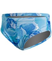 Illusions Activewear Shades of Blue Youth Brief Swimsuit