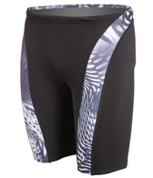 Illusions Activewear Enter Galactica Men's Splice Jammer Swimsuit