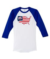 USA Swimming Unisex Liberty Raglan T-Shirt