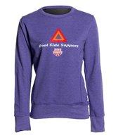 USA Swimming Women's Pool Side Support Crew Neck Sweatshirt
