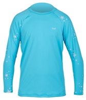 Xcel Girls' Axis Alexa Long Sleeve Surf Shirt