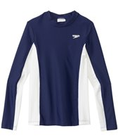 Speedo Unisex UPF 50+ Long Sleeve Rashguard (7yrs-16yrs)