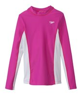 Speedo Unisex Long Sleeve Rashguard (7yrs-16yrs)