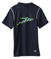Speedo Boys' Boom Swim Tee (8yrs-20yrs)