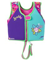 Speedo Girls' Learn To Swim Printed Neoprene Swim Vest (2yrs-6yrs)