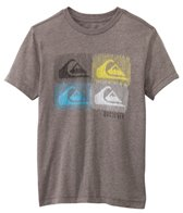 Quiksilver Boys' Barred S/S Tee (8yrs-14yrs+)