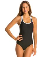 Champion Absolute Fitness Swim Solid Novelty Back Tank