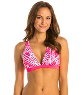 Heritage Surf Network V-neck Swim Bra