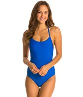Champion Performax Solid Signature Lingerie Tank One Piece Swimsuit