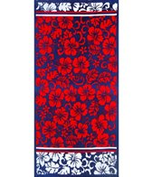 dohler USA Hibiscus Sunset Beach Towel 40 x 72