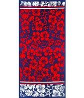 dohler USA Hibiscus Sunset Beach Towel 40 x 72