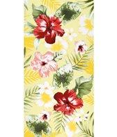dohler USA Tropical Flower Medley Beach Towel 34 x 64