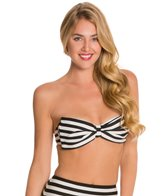 Kate Spade Georgica Beach Stripes Underwire Bow Bra Bikini Top