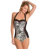 Kate Spade Saint Tropez Halter One Piece Swimsuit
