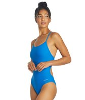 Sporti Tie Back One Piece Swimsuit