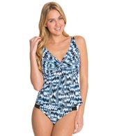 Sunsets High Tide Underwire Twist Tankini Top (E/F/G)