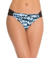 Sunsets Swimwear High Tide Shirred Side Bikini Bottom