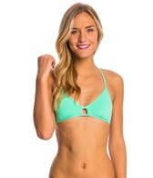 Eidon Solid Madison Triangle Bikini Top