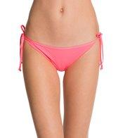 Eidon Solid Tiki Tie Side Bikini Bottom