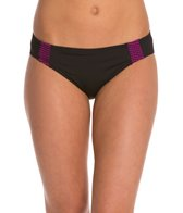 Betsey Johnson Animal Attraction Mesh Hipster Bikini Bottom