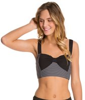Betsey Johnson Love Always Novelty Bra Bikini Top