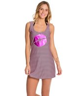 Betsey Johnson Kiss Cover Up Swim Dress