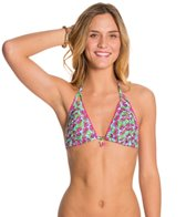 Betsey Johnson Cherry Pop Triangle Bikini Top