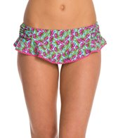 Betsey Johnson Cherry Pop Swim Skirtini Bikini Bottom