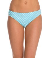 Betsey Johnson Stripes Allure Hipster Bikini Bottom