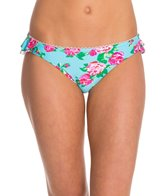 Betsey Johnson Garden Rose Hipster Bikini Bottom