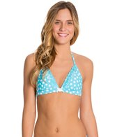Betsey Johnson Spot On Triangle Bikini Top