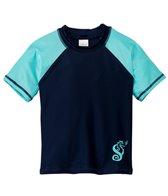 SnapMe Boys' Tompkins Rashguard S/S Shirt (12mos-3T)