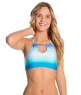 Roxy Ocean Breeze Halter Crop Bikini Top