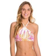 Roxy Hearts of Palm Crop Bikini Top