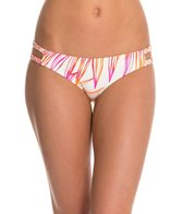 Roxy Hearts of Palm Cheeky Scooter Bikini Bottom