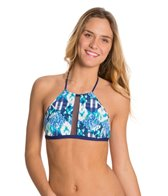 BCBGeneration I'm A Mesh For You The Born Bold O-Ring Bikini Top