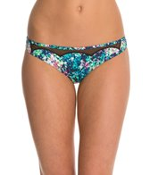BCBGeneration Fun In The Sun Floral High Waist Bikini Bottom