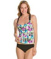 Adidas Pop Tie Dye Tankini Top