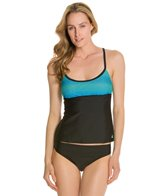 Adidas Movement Dots Racer Back Tankini Top
