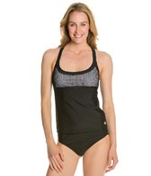 Adidas Layered Crochet Tankini Top