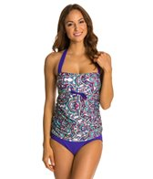 Athena Perfectly Paisley Halter One Piece Swimsuit