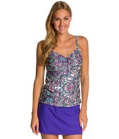 Athena Perfectly Paisley Underwire Tankini Top