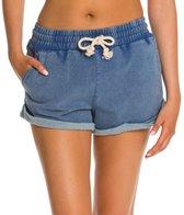 minkpink-ice-blue-sweat-shorts