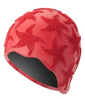 Sporti Starfish Textured Rubber Swim Cap