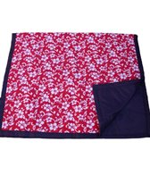 Tuffo Red Hawaii Beach Blanket
