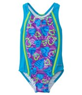 Speedo Girls' Dynamic Love Sport Splice One Piece (4yrs-6yrs)